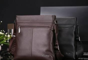 Мужская кожаная сумка Danten's + Бесплатная достав, Малая Пурга, цена: 2 490р.
