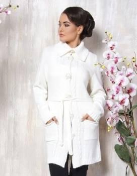 Купить зимнюю куртку левис, кофта белая, шерсть/пан, разм. 46, Белореченский, цена: 1 200р.
