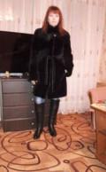 Шуба мутоновая, кожа и шерсть платья, Новоузенск
