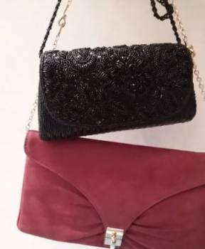 Клатч сумка театральная черная новая