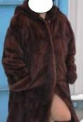 Норковая шуба с капюшоном - трапеция, платья ниже колена красивые, Бутурлиновка