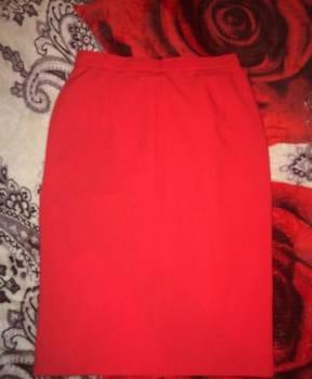 Костюм, юбки классика, платье с прямым вырезом