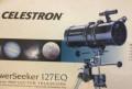 Телескоп celestron PowerSeeker 127EQ новый, Барвиха