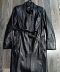 Плащ, натуральная кожа, женская одежда gerry weber интернет магазин, Советск