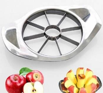 Нож для яблок стальной нарезает дольками