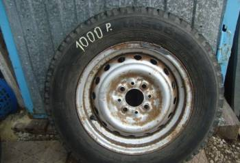 "Колесо на ваз ниишп ""И-508"", toyota fj cruiser колеса, Сызрань, цена: 700р."