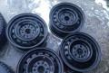Диски 5/114, 3 r15, штампованные диски для шевроле авео 2012, Кемерово