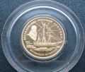 Золотая монета арктическая экспедиция Нансена 1995, Киевский