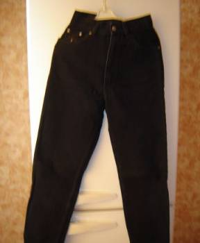 Джинсы муж. w28 б/у 1 раз сост. нов, мужские джинсы с якорем