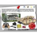 Военная машина Танк на радиоуправление в коробке, Джалиль