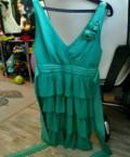 Платье праздничное, синее платье с красными цветами купить, Салаир