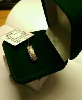 Кольцо золотое с фианитами 585 пробы, Лукоянов, цена: 3 893р.