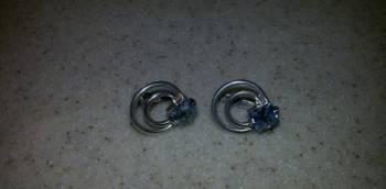 Серьги из серебра, Кувандык, цена: 1 200р.