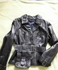 Куртка кожаная, натуральная, модная одежда для девушек 16-18 лет, Алатырь