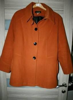 Золотое платье h&m, женское пальто 54-56р