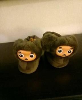 Тапочки детские новые, Мончегорск, цена: 300р.