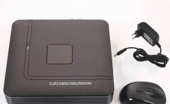 Видеорегистратор AHD на 4 камеры