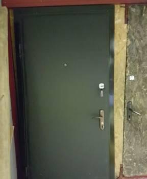 Дверь из железа 2 мм с отделкой винил кожа