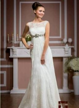 Модели платьев на праздник, свадебное платье