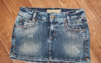 Asos одежда для кормящих, юбка джинсовая, Италия, новая