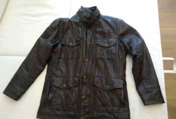 Мужская новая кожаная куртка, хсн костюм джагер