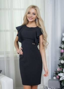 Новое красивое платье-волан, джинсы для полных беременных женщин