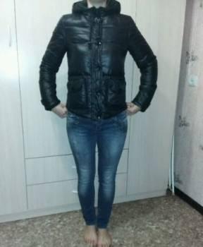 Куртка на пуху теплая, модные женские куртки с мехом зима 2018, Ангарск, цена: 300р.