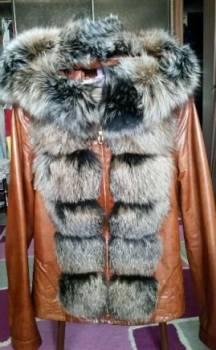 Оптовый магазин одежды наргиза, продам куртку из нат кожи Alberto Fabiani с капюшо, Благовещенск, цена: 25 000р.