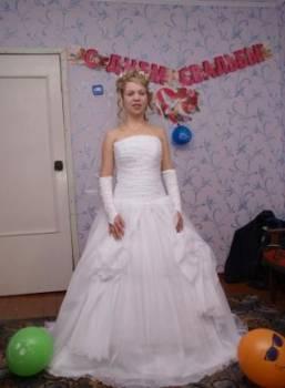 Джинсовая одежда на полных купить дешево, свадебное платье, Воркута, цена: 9 000р.