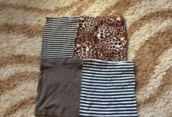 Юбки новые, HM, юбка из экокожи купить бордового цвета, Петрозаводск, цена: 300р.