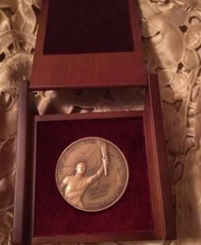 Памятная медаль Универсиада-2013 подписана Путиным