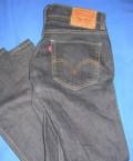 Levis 511 джинсы W 32 L 30, мужские белые рубашки с коротким рукавом, Старая Купавна