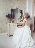 Свадебное платье, платья с баской ниже колена, Арзамас