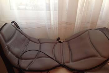 Массажная накладка на кресло новая
