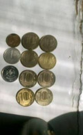 2007 год 10 коп с-пб широкий кант 1998 год 1 руб, Кувандык