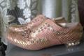 Босоножки на каблуке розовые, туфли, Жуков