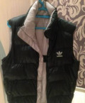 Пуховая жилетка Adidas мужская, мужская безрукавка армани, Ивантеевка