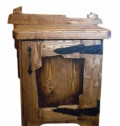 Тумба деревянная в спальню под старину. Новая, Одинцово
