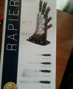 Набор ножей rapier WB-5032 новый, Железногорск, цена: 3 200р.