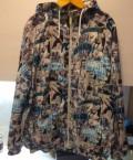 Куртка мужская зимняя длинная с капюшоном найк, ветровка Marvel comics, Ладушкин