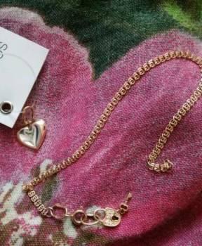 Золотой браслет, кулон, Киров, цена: 700р.