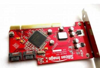Контроллер SATA PCI Sil3112 (2 SATA), Тюмень, цена: 200р.