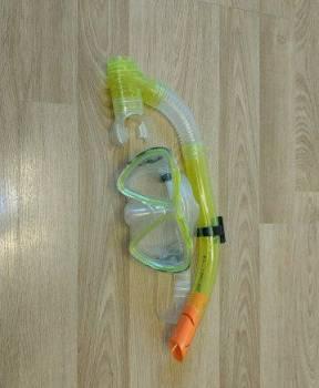 Маска с трубкой и ласты для рук для плавания