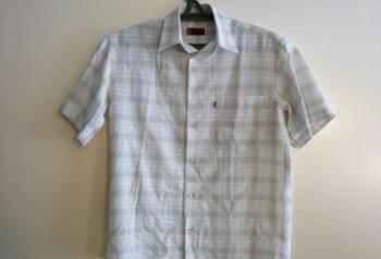 """Рубашка Levi""""s белая, костюмы большие размеры интернет магазин недорого, Новый Оскол, цена: 1 500р."""
