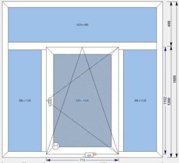 Продам окна 3шт, Тулун, цена: 9 800р.