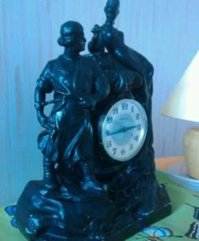 Часы каминные литьё, Александровск, цена: 2 800р.