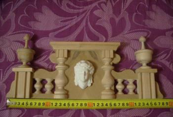 Корона для старинных настенных часов. 37. 5 см, Омск, цена: 3 200р.
