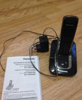 Телефон беспроводной для дома Panasonic