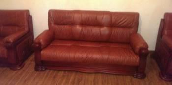 Кож диван и кресла, Хасавюрт, цена: 180 000р.