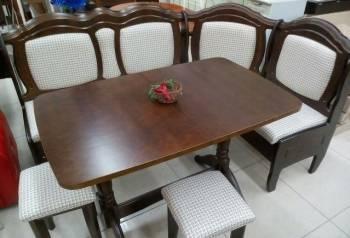 Кухонный угол+ стол + 2 табурета Трапеза, Щигры, цена: 14 400р.